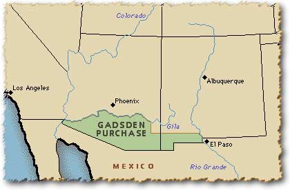 gadsden-purchase-map